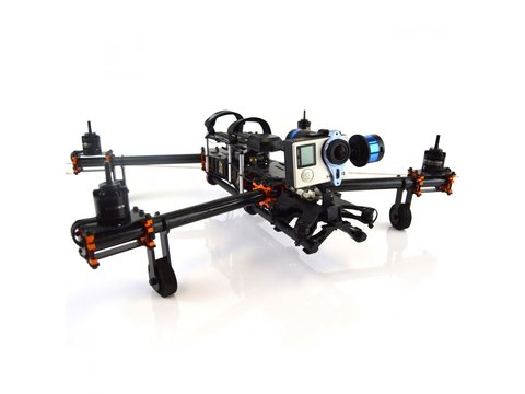 Lynxmotion HQuad500 Parallel Tubes Gimbal Mount (Tarot)