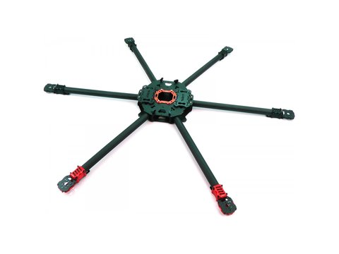 Tarot 960 Folding Carbon Fiber Hexacopter Frame