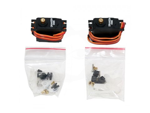Mini Drak Digital Metal Gear Servos