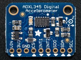 Adxl345 triple axis accelerometer plus 2g slash 4g slash 8g slas