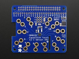 Adafruit capacitive touch hat for raspberry pi min dot dot dot 1
