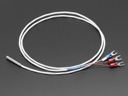 Platinum rtd sensor pt100 3 wire 1 meter long 4002334
