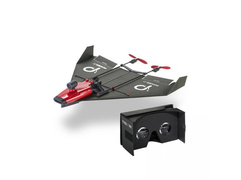 PowerUp FPV Paper Airplane Drone w/ Live Streaming Camera