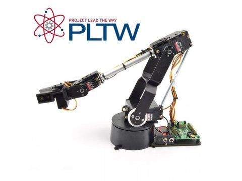 Lynxmotion AL5D PLTW Robotic Arm Kit