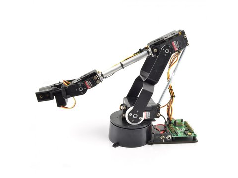 Lynxmotion AL5D 4 Degrees of Freedom Robotic Arm (Hardware Only)