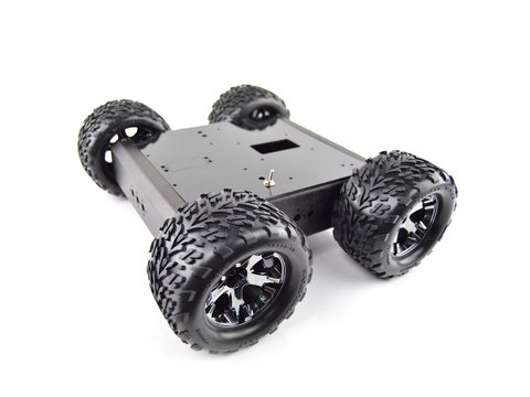Lynxmotion Aluminum A4WD1 Rover Kit (w/ Encoders)