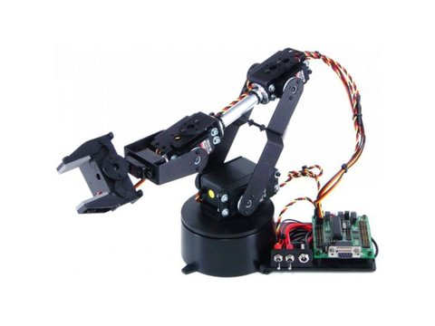 Lynxmotion AL5B 4DOF Robotic Arm SSC-32U Combo Kit (No Software)