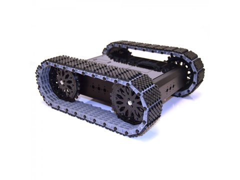 Lynxmotion Aluminum A4WD1 MTS 12T Rover Kit
