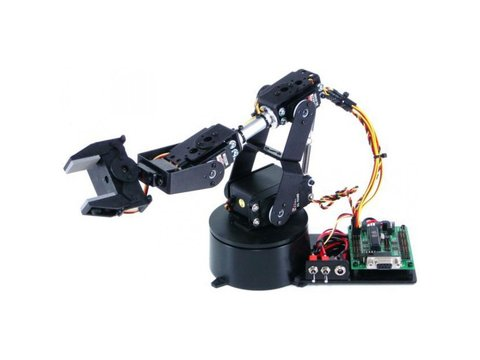 Lynxmotion AL5A 4 Degrees of Freedom Robotic Arm (Hardware Only)