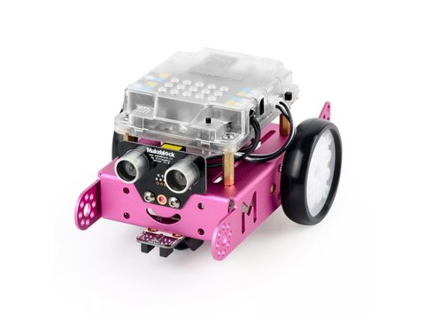 MakeBlock mBot v1.1 Pink STEM Educational Programmable Robot (Bluetooth)