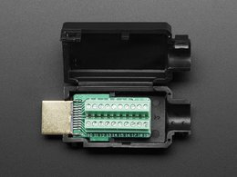 HDMI Plug to Terminal Block Breakout