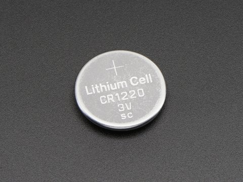 CR1220 12mm Diameter - 3V Lithium Coin Cell Battery - CR1220