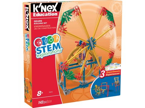STEM Explorations Gears Building K'NEX Set