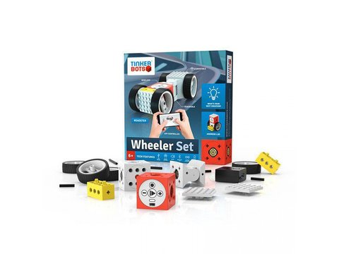 Tinkerbots Wheeler Set Robotic Construction Kit