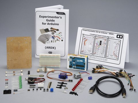 Adafruit ARDX - v1.3 Experimentation Kit for Arduino (Uno R3) - v1.3