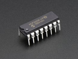 Mcp3008 8 channel 10 bit adc with spi interface 2212004