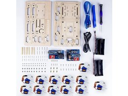 Crawling quadruped robot kit for arduino 1414980408