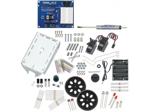 Parallax Boe-Bot Robotics Shield Kit for Arduino (No Arduino)