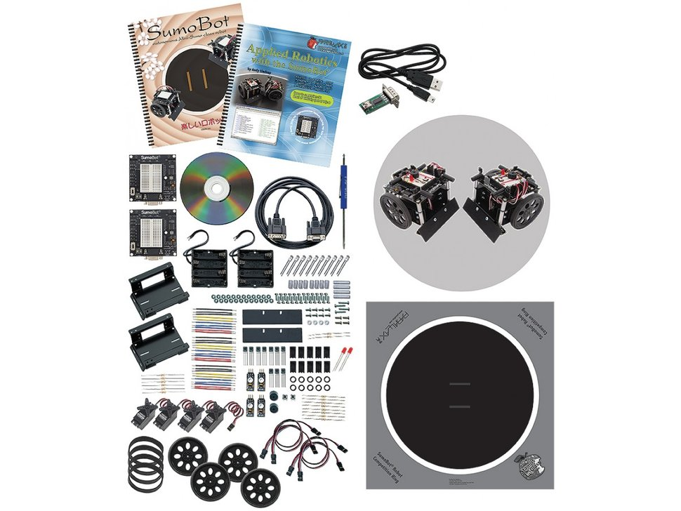 Parallax sumobot robot competition kit 8923926763