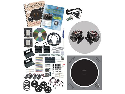 Parallax SumoBot Robot Competition Kit (Serial with USB Adapter and Cable)