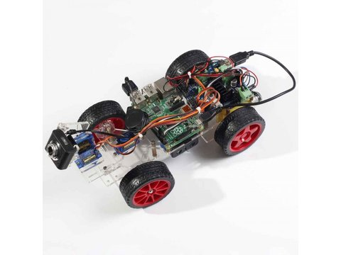Smart Video Car Kit for Raspberry Pi Model B+