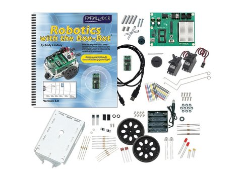 Parallax Boe-Bot Robot Kit - USB Version