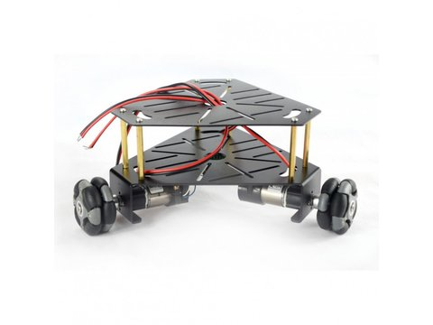 3WD 48mm Omni-Directional Triangle Mobile Robot Chassis