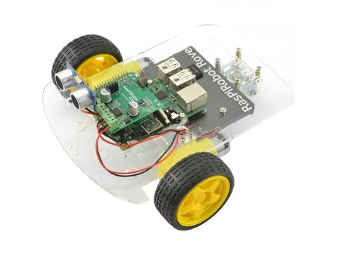Monk Makes RasPiRobot Rover for Raspberry Pi