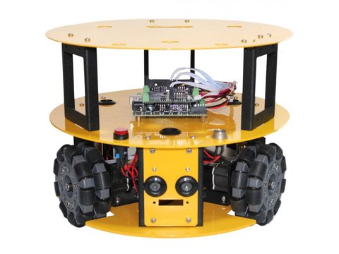 3WD Compact Omni-Directional Arduino Compatible Mobile Robot