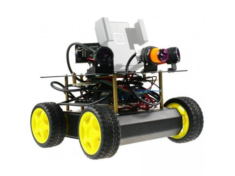4WD Remote Control Robot Kit (Android Compatible)
