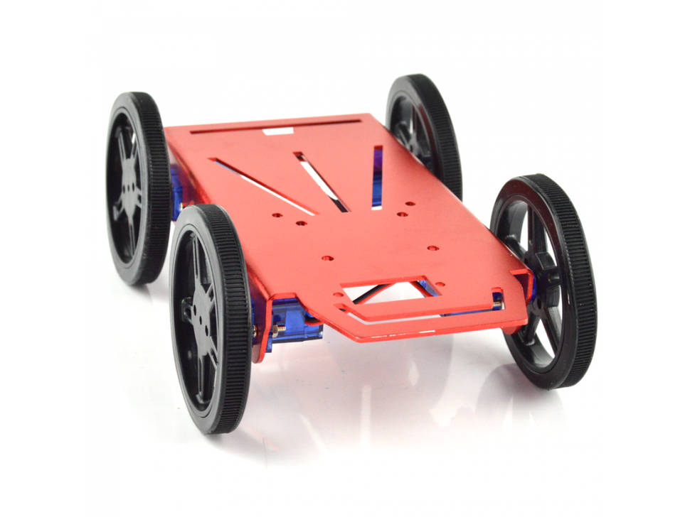 4wd mini robot platform kit 6829567686