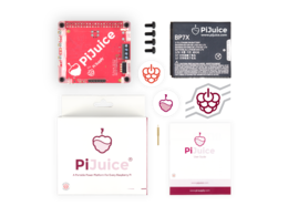 Pijuice hat a portable power platform for raspberry pi number 2