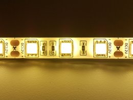 Warm white led weatherproof flexi strip 7624107776