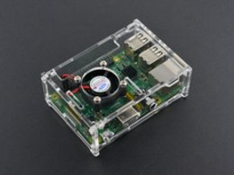 Transparent acrylic case with cooling fa 3793201084