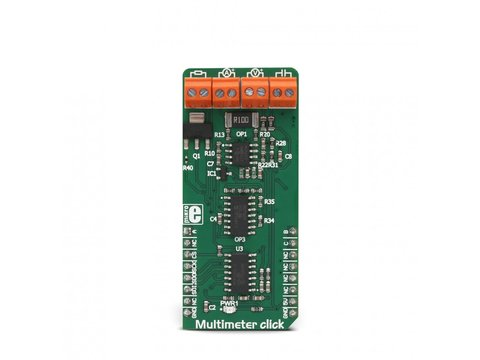 Mikroe Multimeter Click - Current Voltage Resistance & Capacitance Measurement
