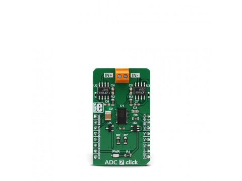 Mikroe ADC 7 Click - Analog to Digital Converter - LTC2500-32
