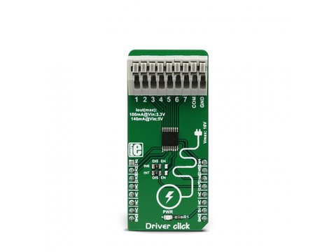 Mikroe Driver click - Integrated Motor and Relay Driver - DRV777