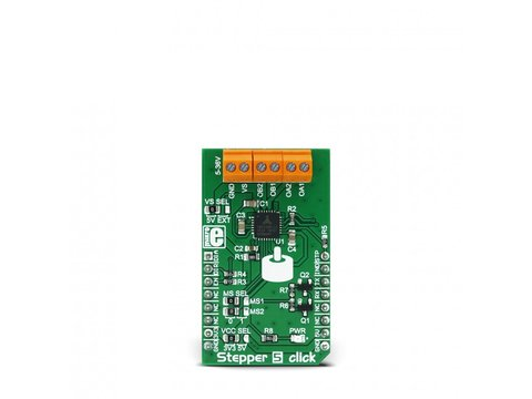 Mikroe Stepper 5 click - Bipolar Step Motor Power Driver - TM2208
