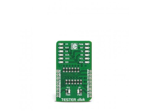 Mikroe Tester click - BUS / PIN / Connection Tester Board