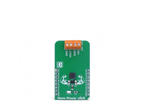 Mikroe Nano Power click - DC-DC Step-up Boost converter w/ Low Input Voltage - MAX17222