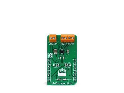 Mikroe H-Bridge click - Dual H-bridge Driver - MC34933