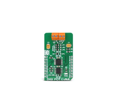 Mikroe DIGI POT 3 click - 1024 Position (10bit) Digital Potentiometer