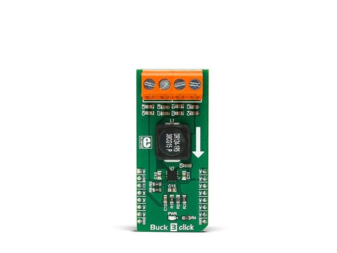Mikroe Buck 3 Click -  TPS568215 Synchronous Step-down Buck Converter
