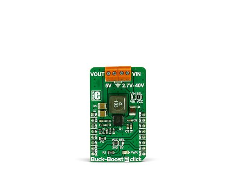 Mikroe Buck-Boost 2 click - DC-DC Step-Down/Step-Up Regulator - LTC3115-2