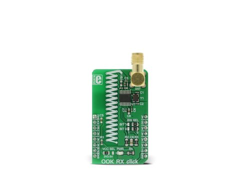 Mikroe OOK RX click - Wireless Receiver at Frequenct 433MHz