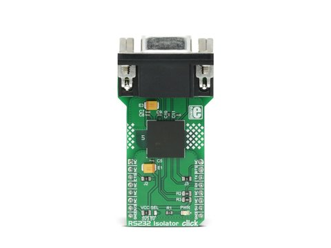 Mikroe RS232 Isolator click - UART to RS232 Module with Galvanic Isolation - ADM3252E