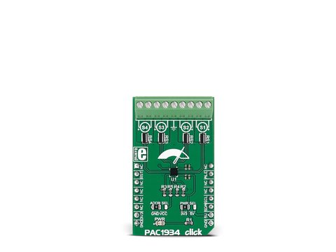 Mikroe PAC1934 click - 4 Channel DC Power/Energy Monitor Board