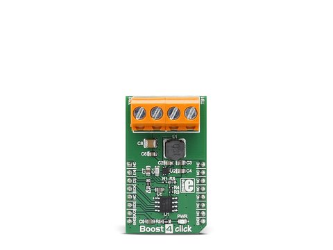 Mikroe Boost 4 Click - High efficiency fully integrated Synchronous Boost Converter