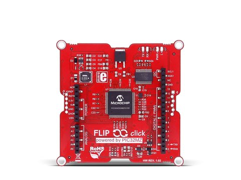 Mikroe Flip&Click PIC32MZ (with ChipKIT bootloader)