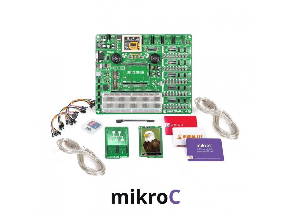 Mikroe mikrolab for mikromedia dspic33 8750865257